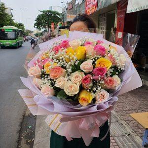 Hoa sinh nhật Sài Gòn quận 10