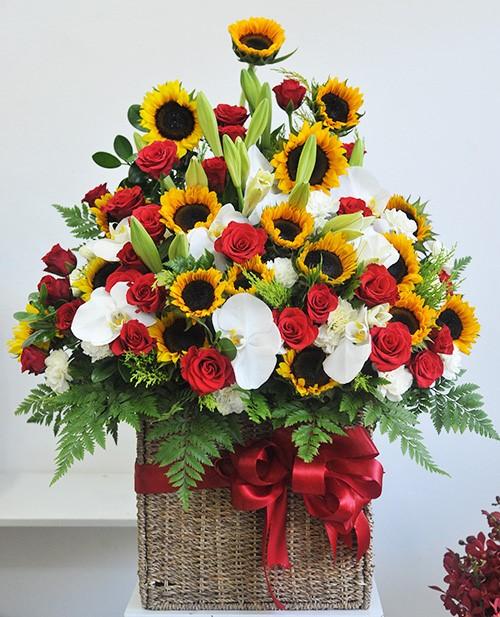 Shop hoa tươi 24h quận 10