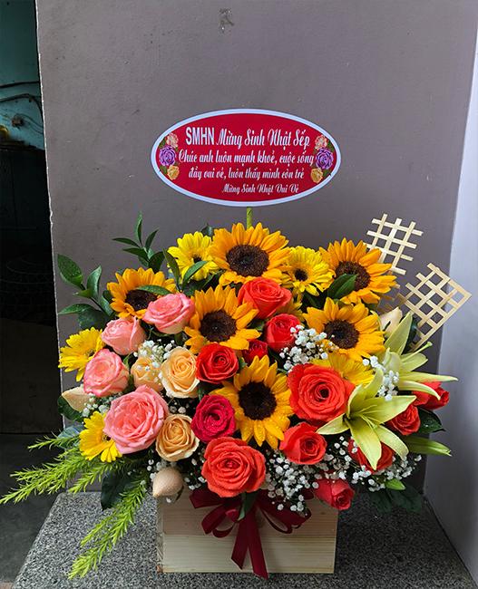 Cửa hàng hoa Sài Gòn quận 10