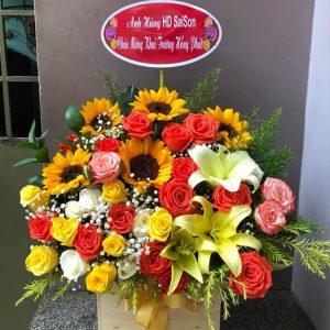 Shop hoa tươi Sài Gòn quận 10
